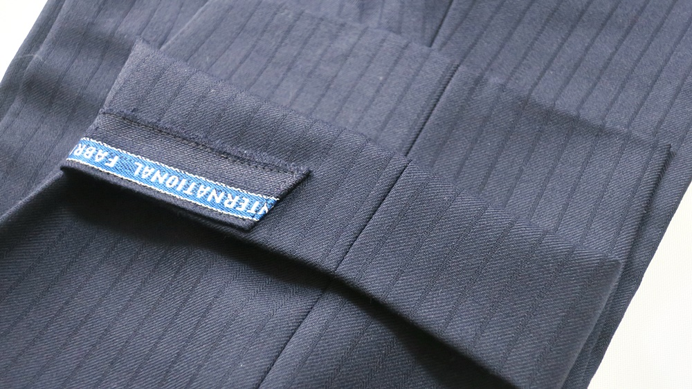 オーダースーツSADA 実際に店舗で作ったオーダースーツ スラックス裾