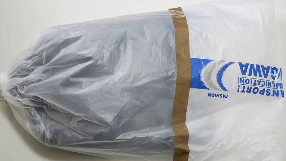 オーダースーツSADA インターネット通販で注文するとハンガーに掛けられた状態で届く