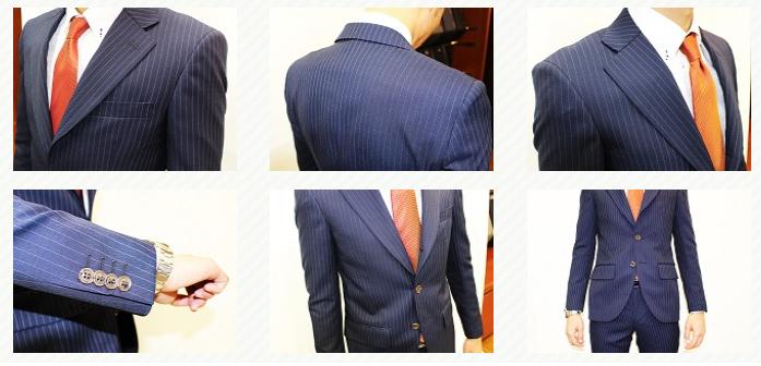 スーツの採寸