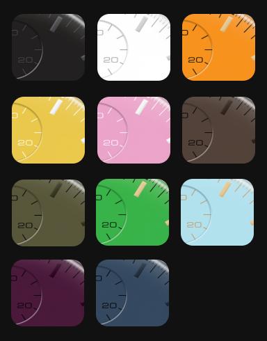 URBAN Modernシリーズ 文字盤カラー
