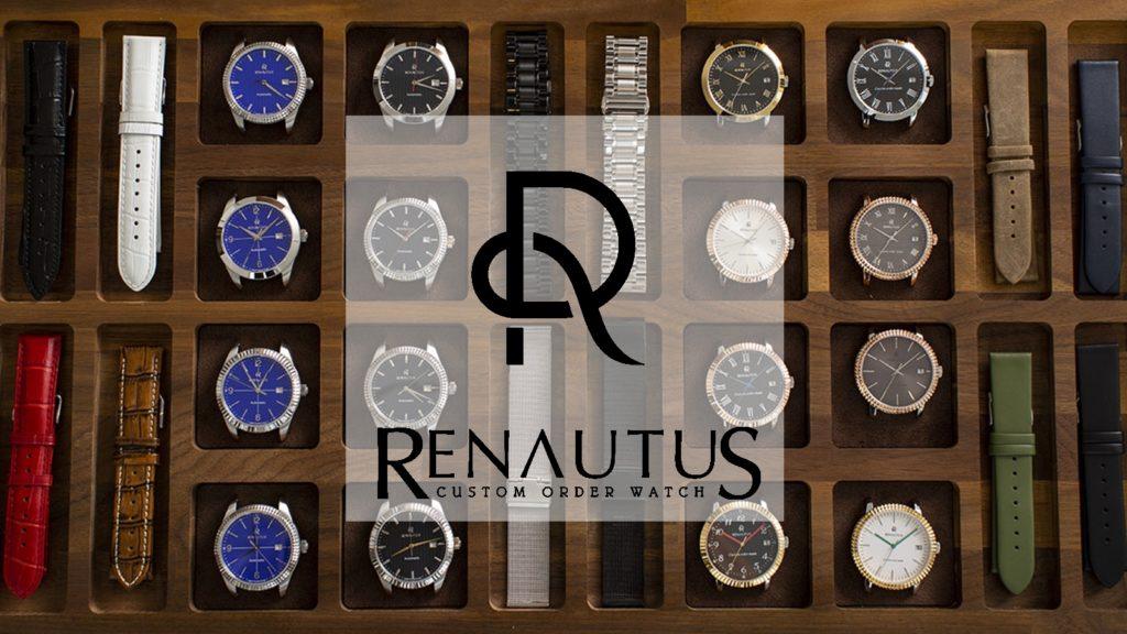 ルノータスRENAUTUS腕時計