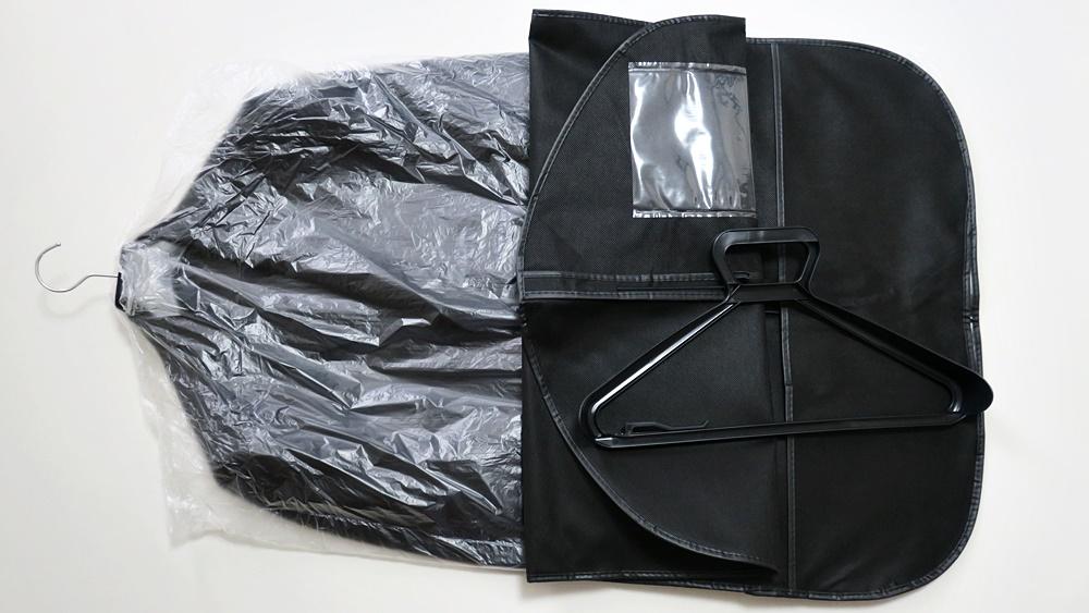 オーダースーツSADA インターネット通販で注文した場合の梱包の中身