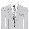 オーダースーツSDA衿の形 ピークドラペル