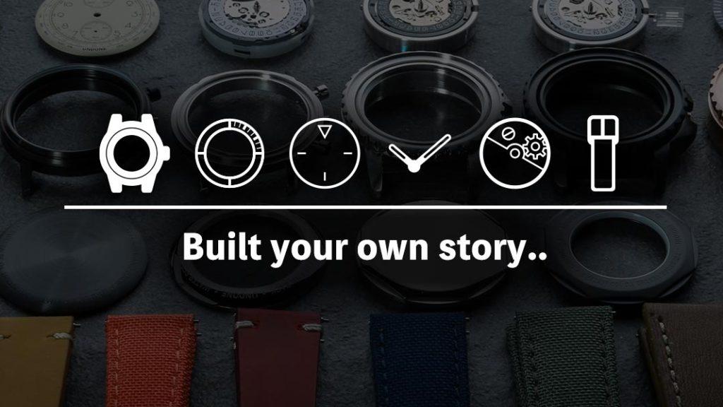 UNDONE カスタマイズ腕時計