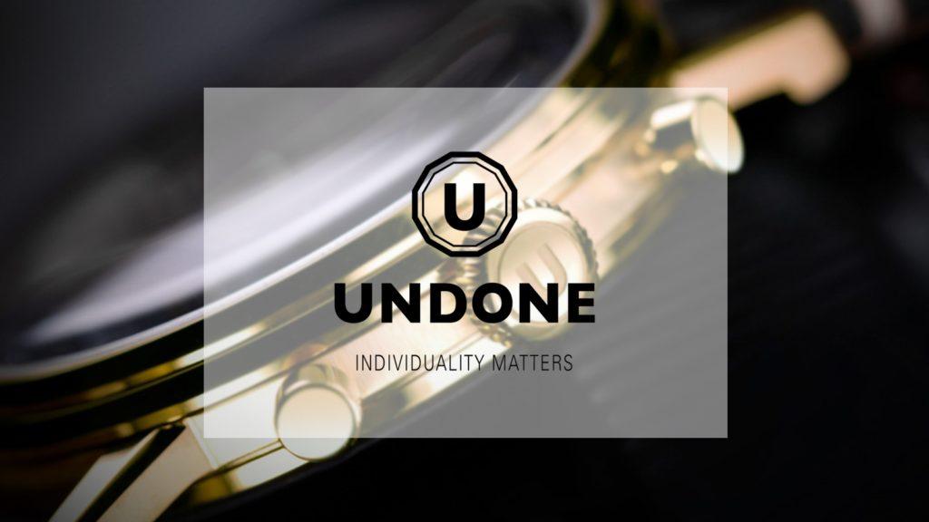 UNDONE アンダーン腕時計 クーポン