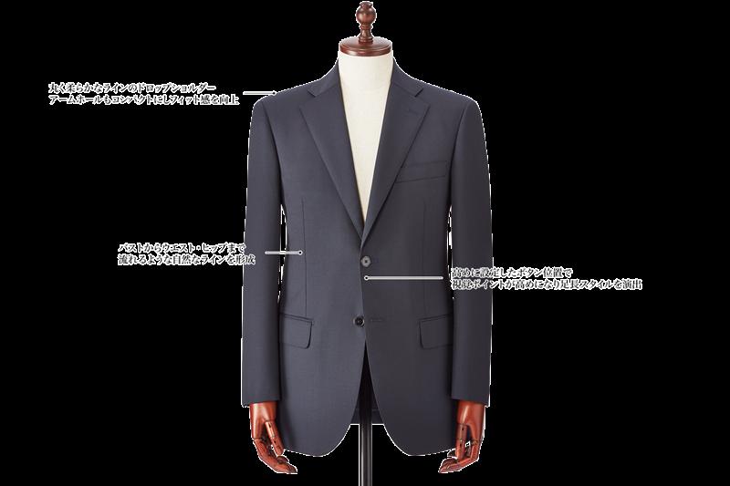銀座山形屋のスーツスタイル Italian Classic Model(イタリアンクラシコ)