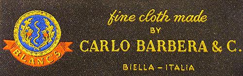 グローバルスタイルのインポート生地カルロ・バルべラ
