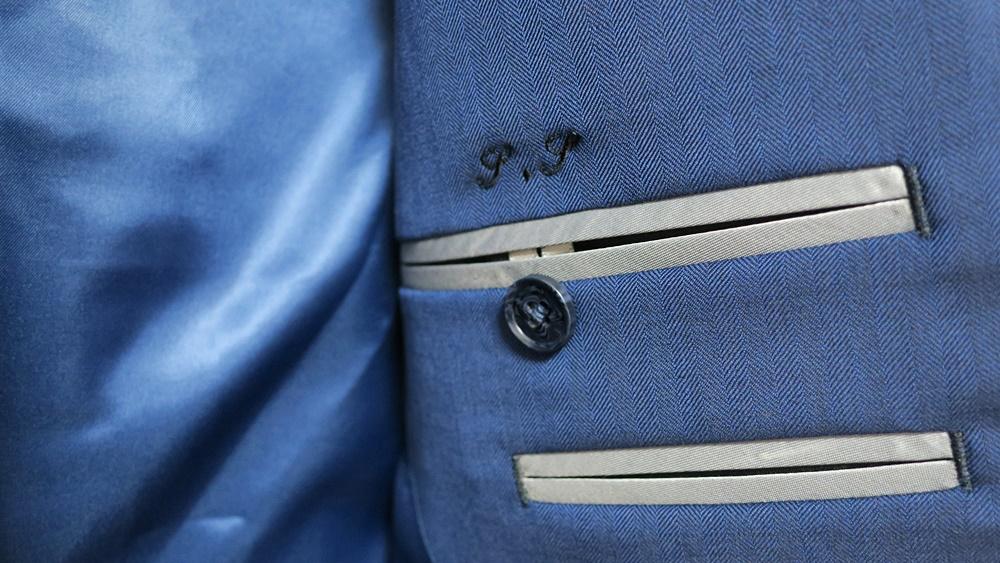 Suit Yaのジャケット刺繍