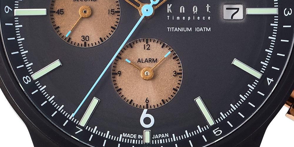 Knot チタニウムソーラー クロノグラフ