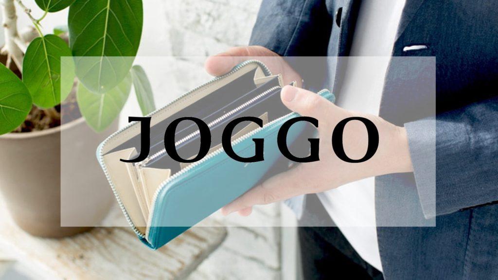 JOGGO メンズ ラウンドファスナー長財布
