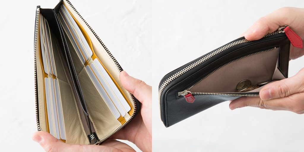 メンズ L字ファスナー財布