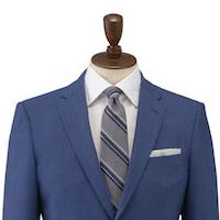 エフワンのスーツスタイル ビルドアップブリティッシュ