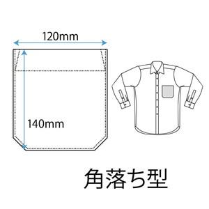 軽井沢シャツ ポケットの種類 角落ち型