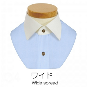 軽井沢シャツ おまかせオーダー 衿ワイド
