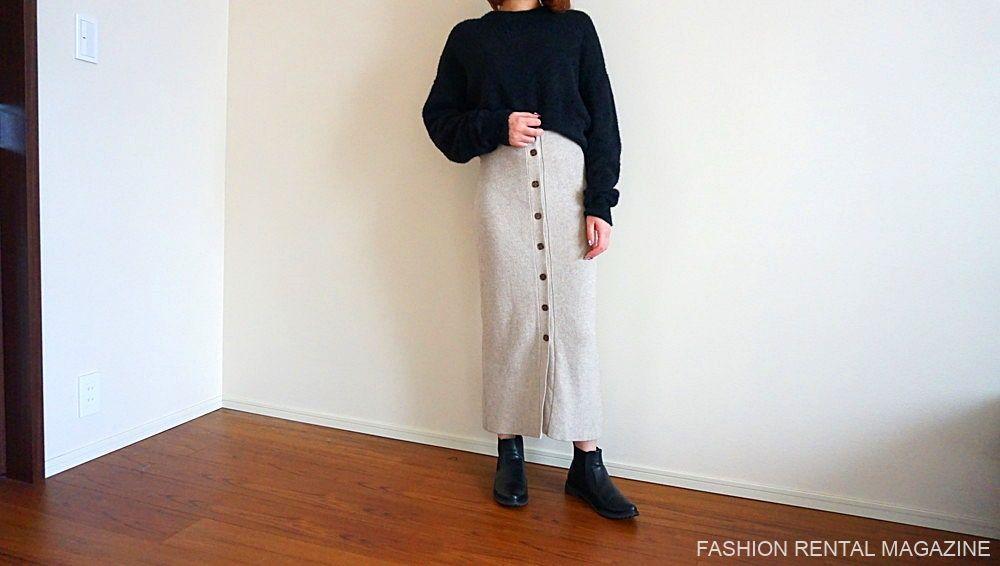 ニット×ニットスカート2