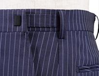 AOKI(青木)のオーダースーツオプション ウエストアジャスター