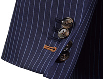 AOKI(青木)のオーダースーツオプション 袖口本切羽