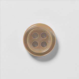 KEIオーダーシャツ ボタンの種類 高瀬貝 (ナチュラル)