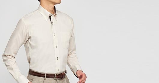 東京シャツ オーダーシャツ 混紡形態安定シャツ