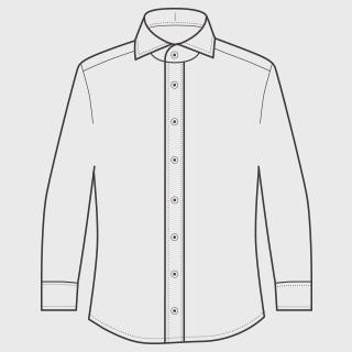 KEIオーダーシャツ 袖 長袖