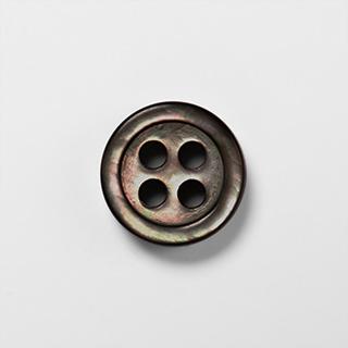 KEIオーダーシャツ ボタンの種類 黒蝶貝