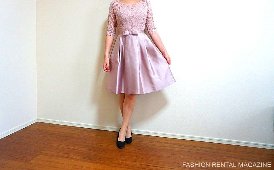 ルクシュール ドレス 正面2