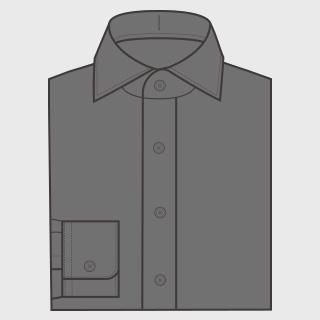 KEIオーダーシャツ クレリック なし