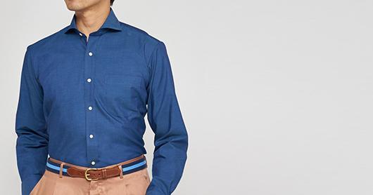 東京シャツ オーダーシャツ インポート素材シャツ