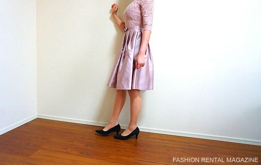 ルクシュール ドレス 横