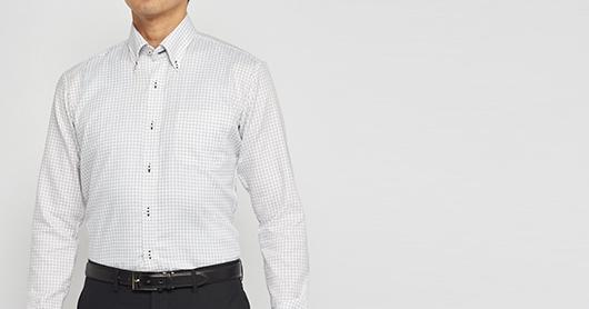 東京シャツ オーダーシャツ 綿100% 形態安定シャツ