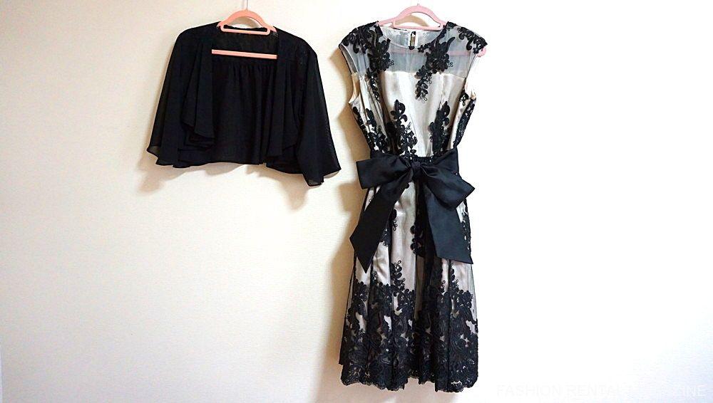 ルルティ ドレスとボレロ