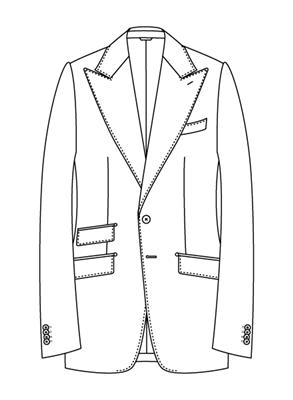 ユニバーサルランゲージメジャーズ スーツスタイル ブリティッシュモデルBS05-P