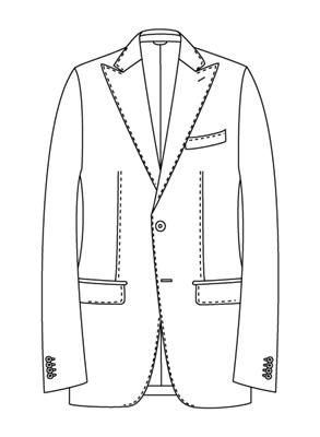 ユニバーサルランゲージメジャーズ スーツスタイル モードモデルNR05-P