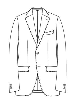 ユニバーサルランゲージメジャーズ スーツスタイル ナポリモデルTR02