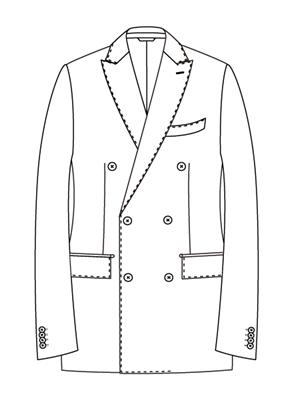 ユニバーサルランゲージメジャーズ スーツスタイル ナポリモデルTR02-D