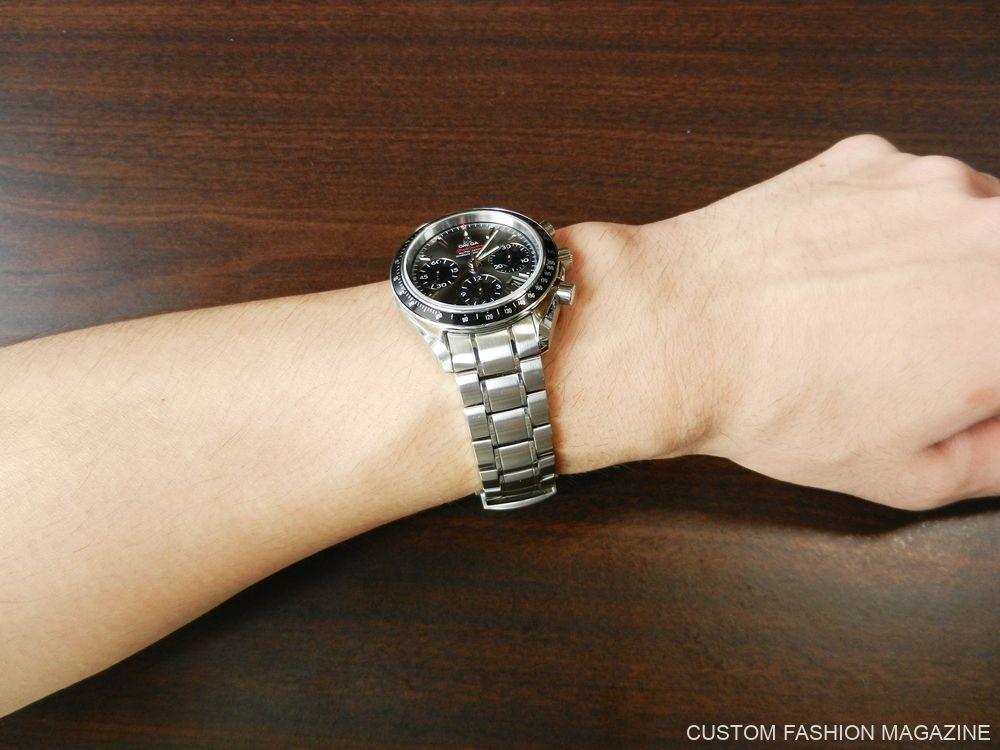 KARITOKE 腕時計レンタル OMEGA スピードマスター 着用 サイズ