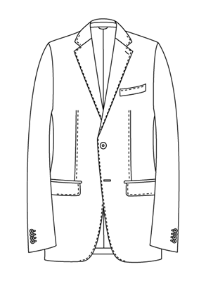 ユニバーサルランゲージメジャーズ スーツスタイル モードモデルNR05