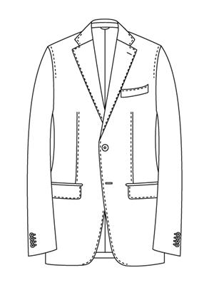 ユニバーサルランゲージメジャーズ スーツスタイル ナポリモデルNZ01