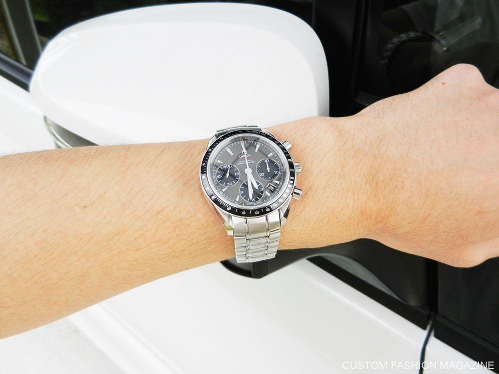 KARITOKE 腕時計レンタル OMEGA スピードマスター 友人感想