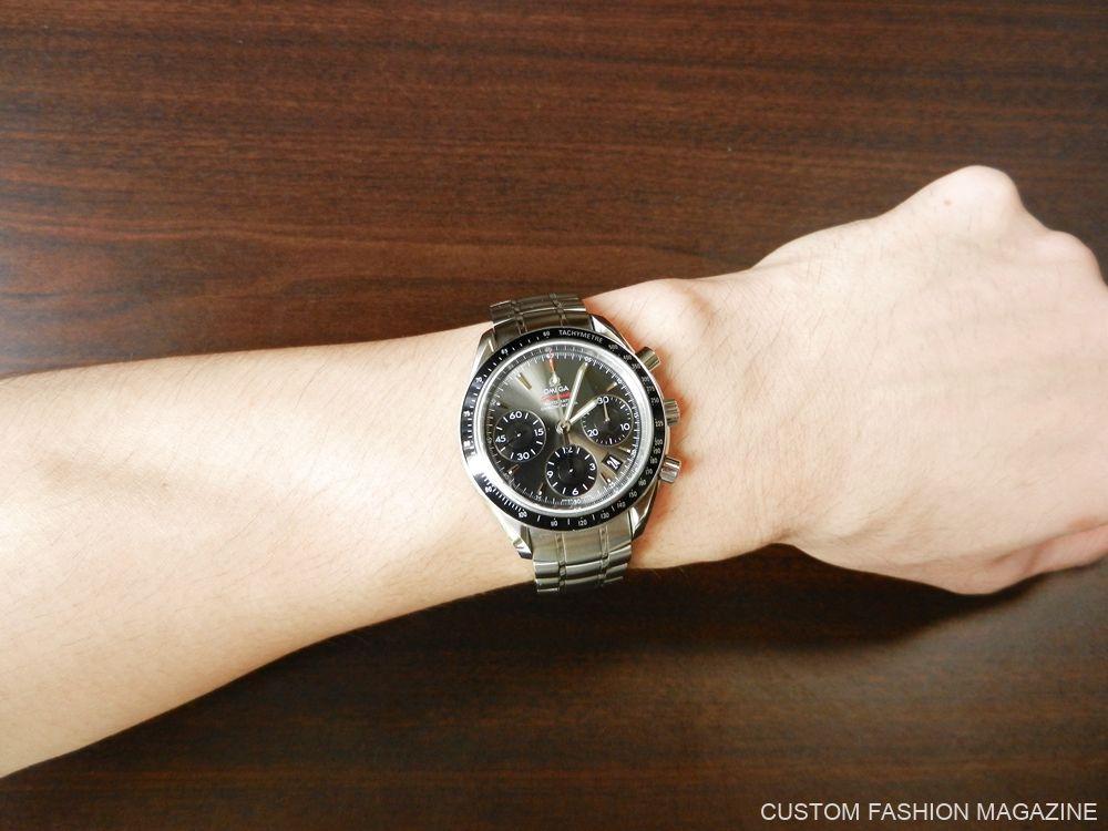 KARITOKE 腕時計レンタル OMEGA スピードマスター 着用