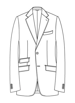 ユニバーサルランゲージメジャーズ スーツスタイル プリティッシュモデルBS05