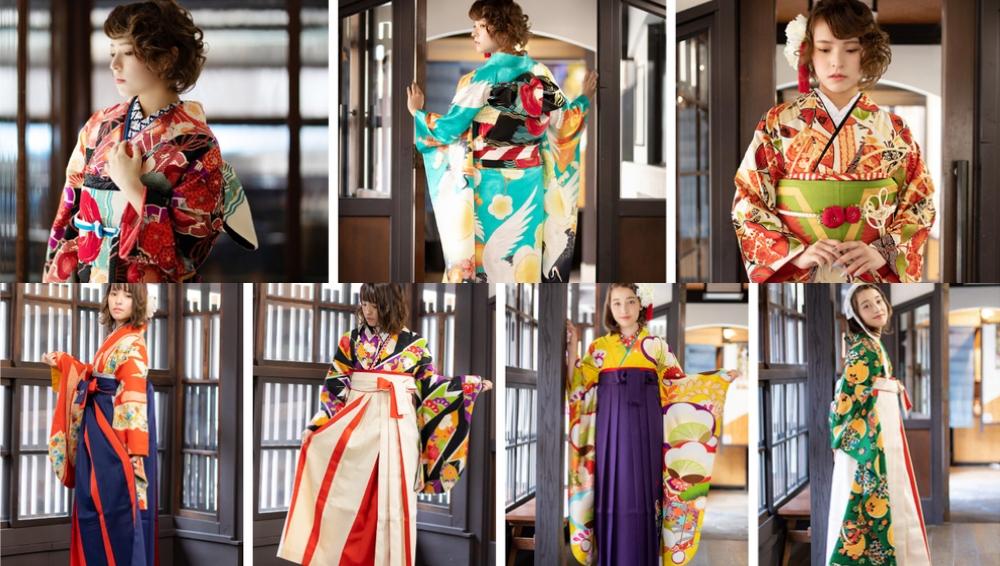夢館 着物と袴