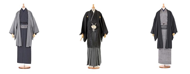 男性用の着物と袴