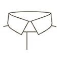 SOLVE(ソルブ) 襟の種類 レギュラー(ショート)