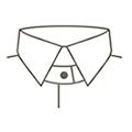 SOLVE(ソルブ) 襟の種類 タブ