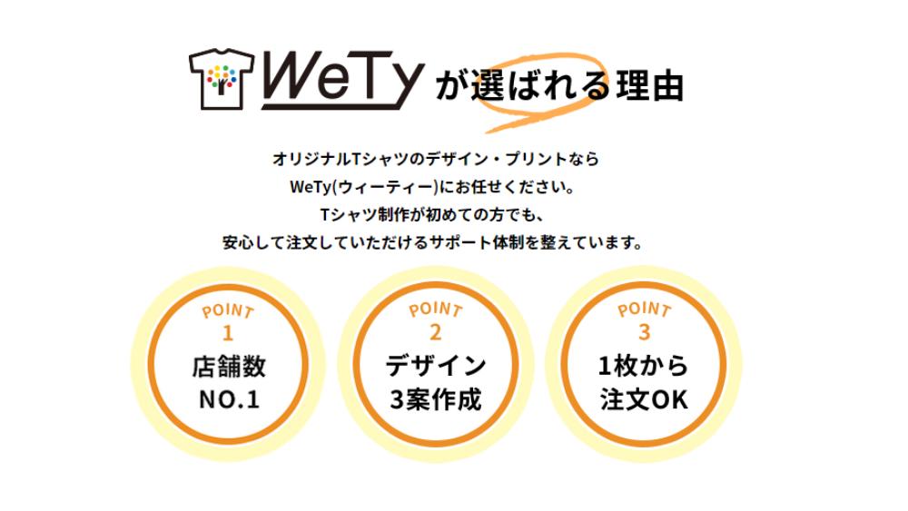WeTy(ウィーティー)の特徴
