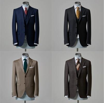 STORY & THE STUDY(ストーリー&ザスタディ)4つのスーツスタイル