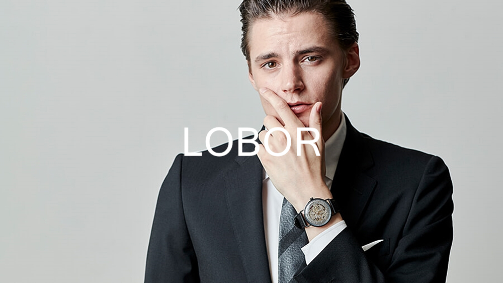 LOBOR ロバー 腕時計 ファッションウォッチ メンズ men's