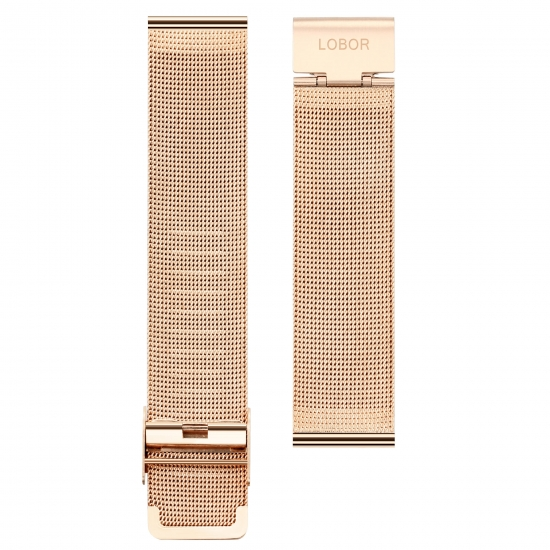 MESH STRAP ROSE GOLD(20MM)