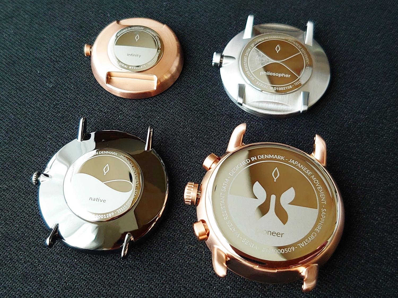 Nordgreen ノードグリーン Pioneer(パイオニア) Philosopher(フィロソファ) Native(ネイティブ) Infinity(インフィニティ) 時計本体 バックケースデザイン